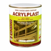 Vernis ACRYLPLAST de Lasure Production 1L