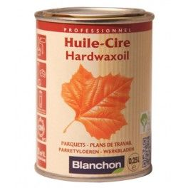 huile cire pour bois hardwaxoil de blanchon 250ml. Black Bedroom Furniture Sets. Home Design Ideas