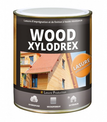 LASURE PRODUCTION Lasure bois professionnelle Wood Xylodrex 1L