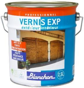vernis bois exp ext rieur int rieur de blanchon 2 5l. Black Bedroom Furniture Sets. Home Design Ideas