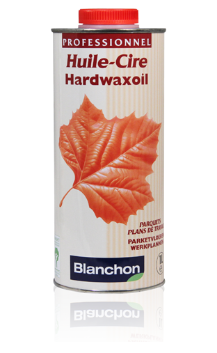 huile cire pour bois hardwaxoil de blanchon 1 litre. Black Bedroom Furniture Sets. Home Design Ideas